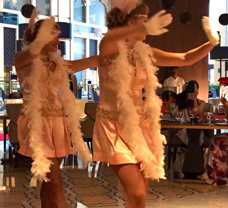 Launching a new brunch? Charleston & Gatsby performance in Dubai