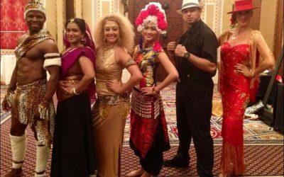 A Promotional Dance Event for Occitane Dubai
